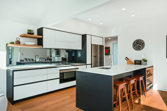 Registered Master Builders, Kitchen, Bennett Street 2, Christchurch