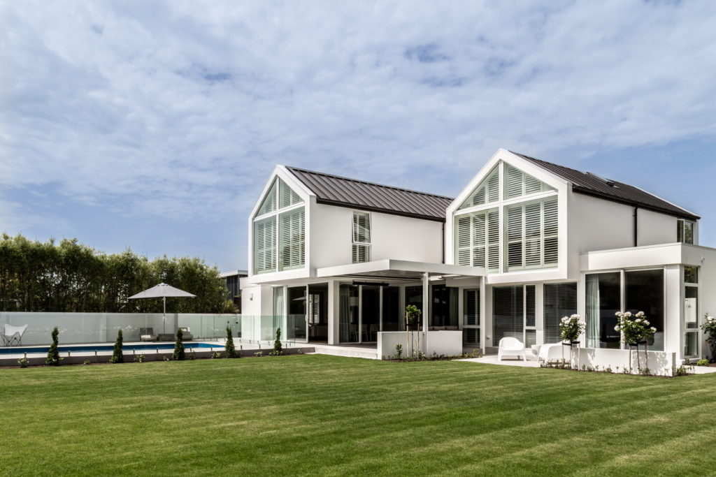 Fleetwood Construction, Registered Master Builders, Christchurch, Merivale, House of the Year, New Build, O'Neill Architects, Architectural Build, Lume Design, Outdoor living,